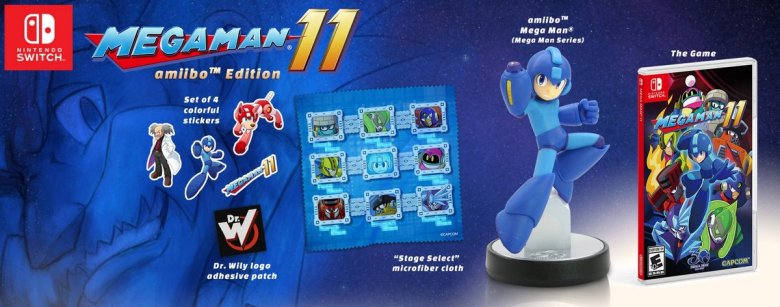 Mega Man 11 amiibo Edition Photo