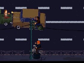 Milanoir Vehicle Chase Screenshot