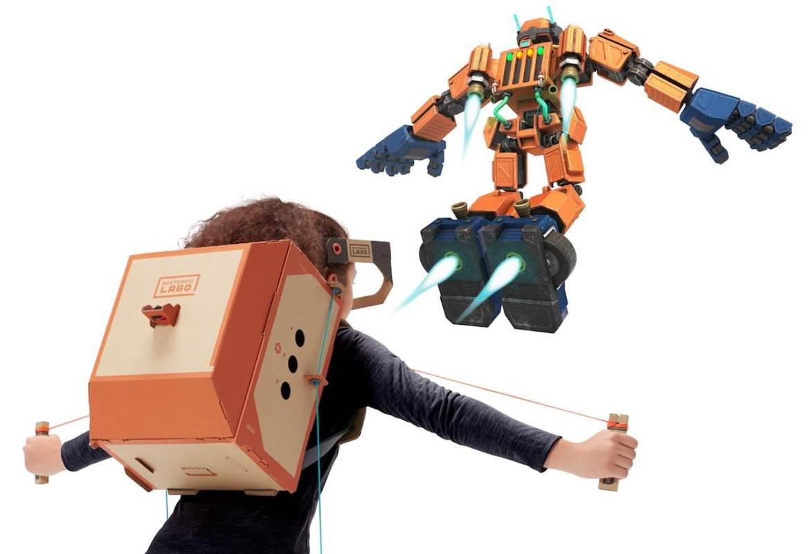 Nintendo Labo Toy-Con 02: Robot Kit Review Screenshot 3