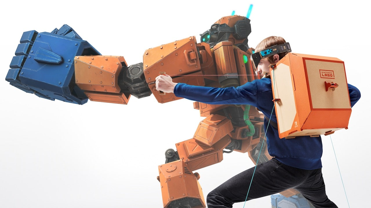 Nintendo Labo Toy-Con 02: Robot Kit Review Header
