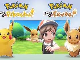 Pokémon Let's GO! Pikachu Eevee Artwork