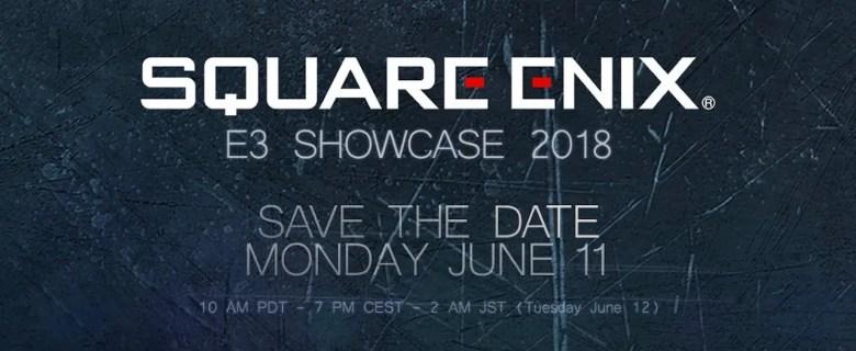 Square Enix E3 2018 Showcase Image