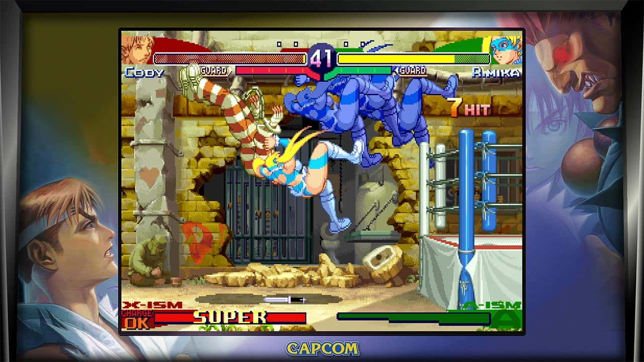 Street Fighter 30th Anniversary Collection Review Screenshot 4