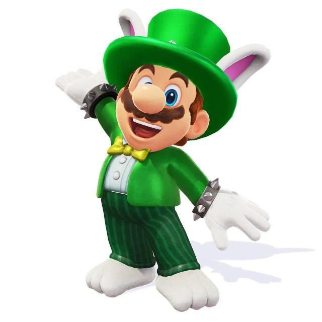 Super Mario Odyssey Topper Costume Screenshot