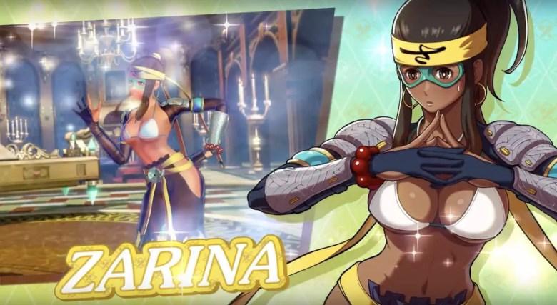 Zarina SNK Heroines: Tag Team Frenzy Screenshot