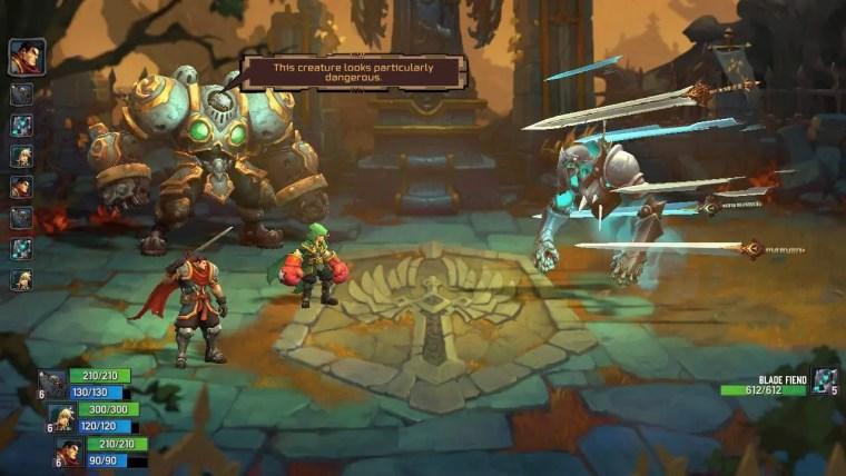 Battle Chasers: Nightwar Review Screenshot 1