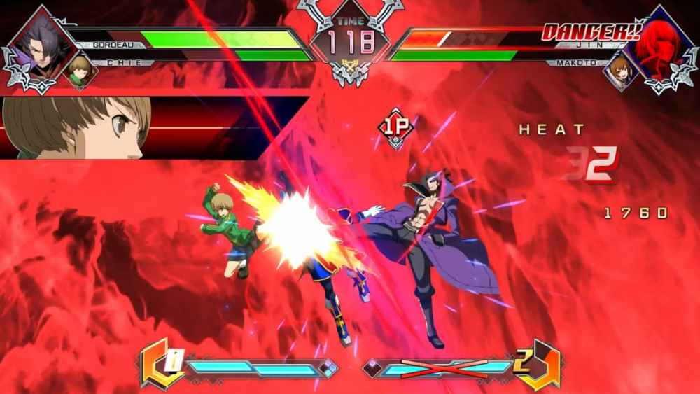 BlazBlue Cross Tag Battle Review Screenshot 2