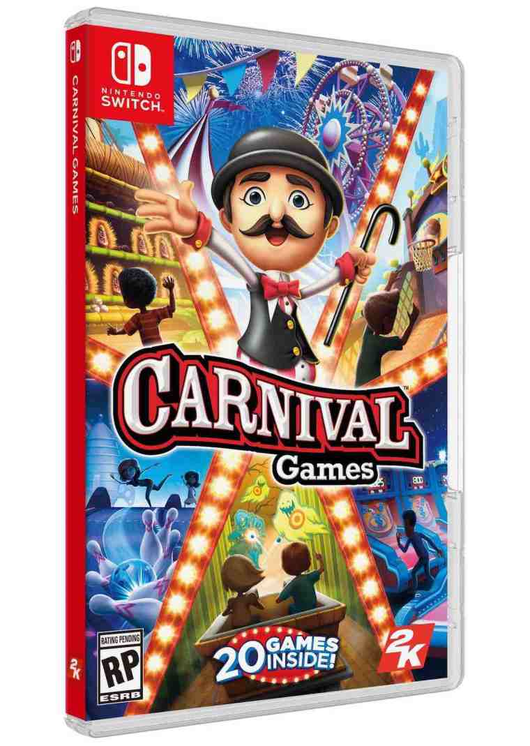 Carnival Games Switch Box Artwork