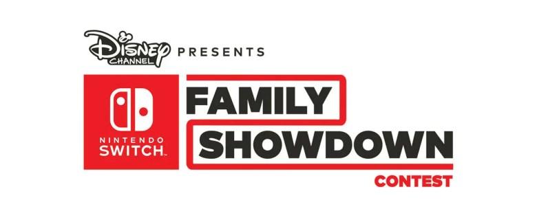 Disney Channel Nintendo Switch Family Showdown Contest