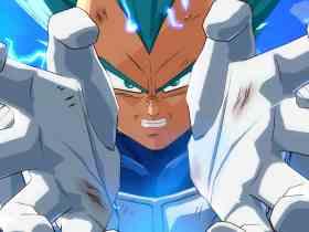 Dragon Ball FighterZ Vegeta Screenshot