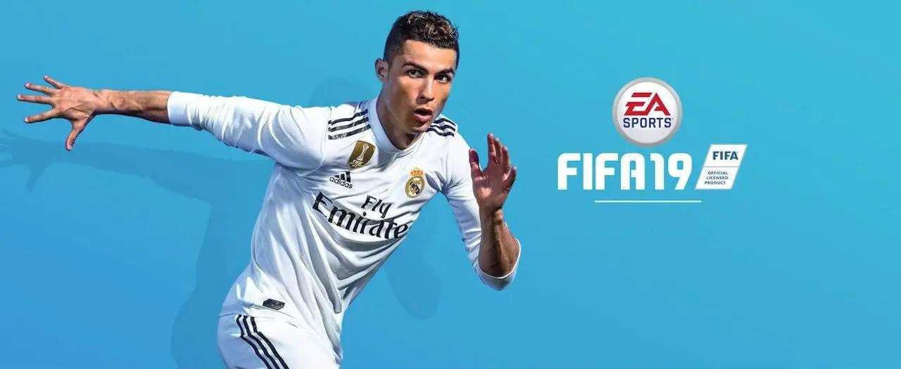FIFA 19 Cristiano Ronaldo Artwork