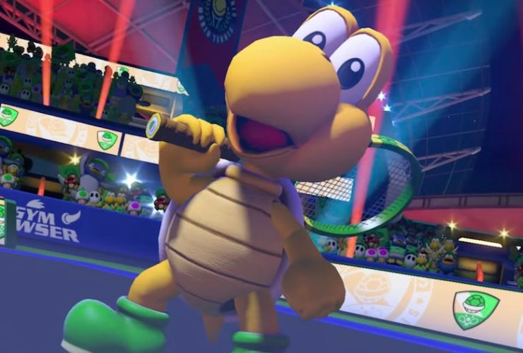 Koopa Troopa Mario Tennis Aces Screenshot