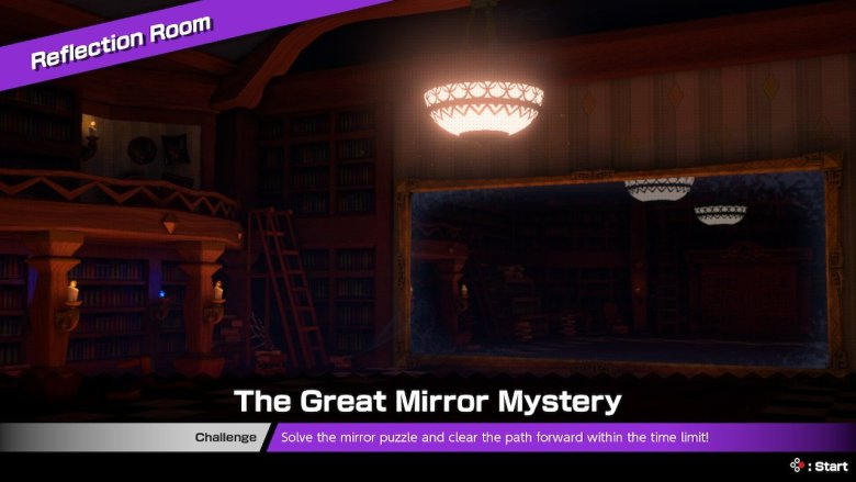 Mario Tennis Aces Reflection Room And How To Beat The Great Mirror