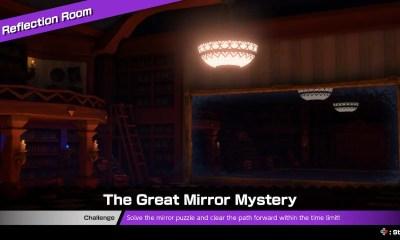 Mario Tennis Aces Reflection Room Screenshot