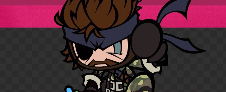 Naked Snake Bomber Super Bomberman R Screenshot