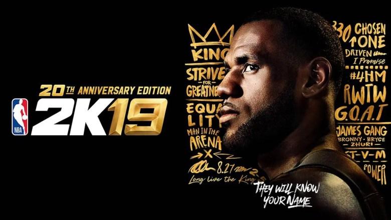 NBA 2K19 Art