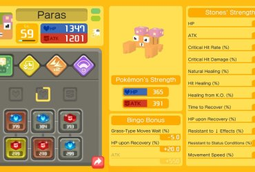 Pokémon Quest Bingo Bonus Screenshot