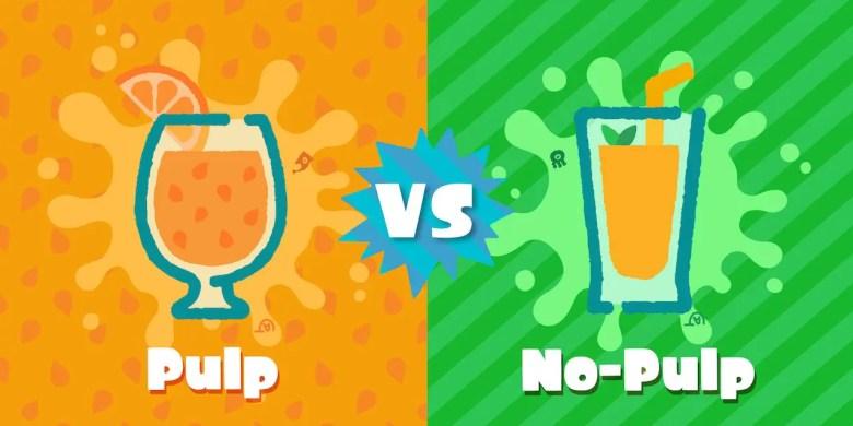 Splatoon 2 Splatfest Orange Juice Artwork