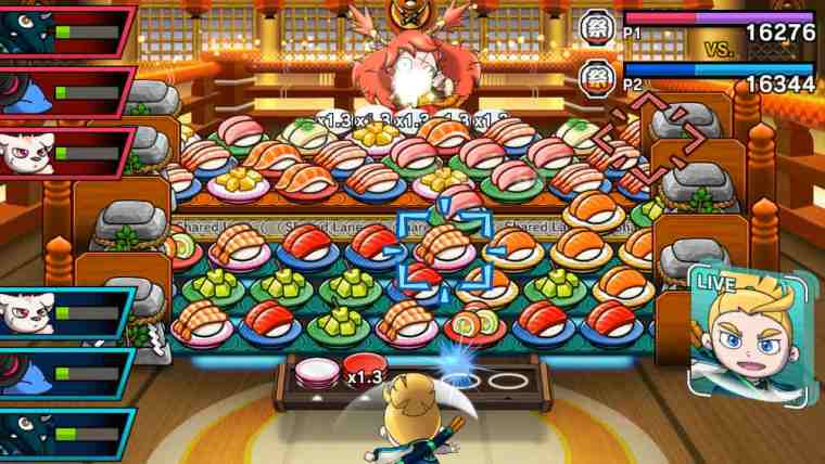 Sushi Striker: The Way Of Sushido Review Screenshot 1