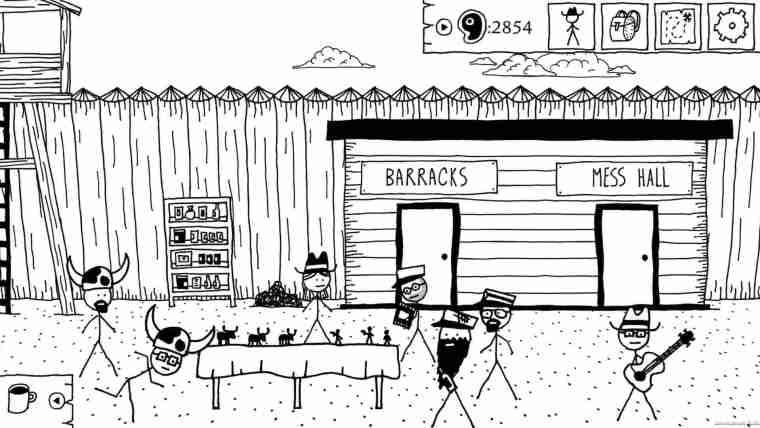 West Of Loathing Review Screenshot 1