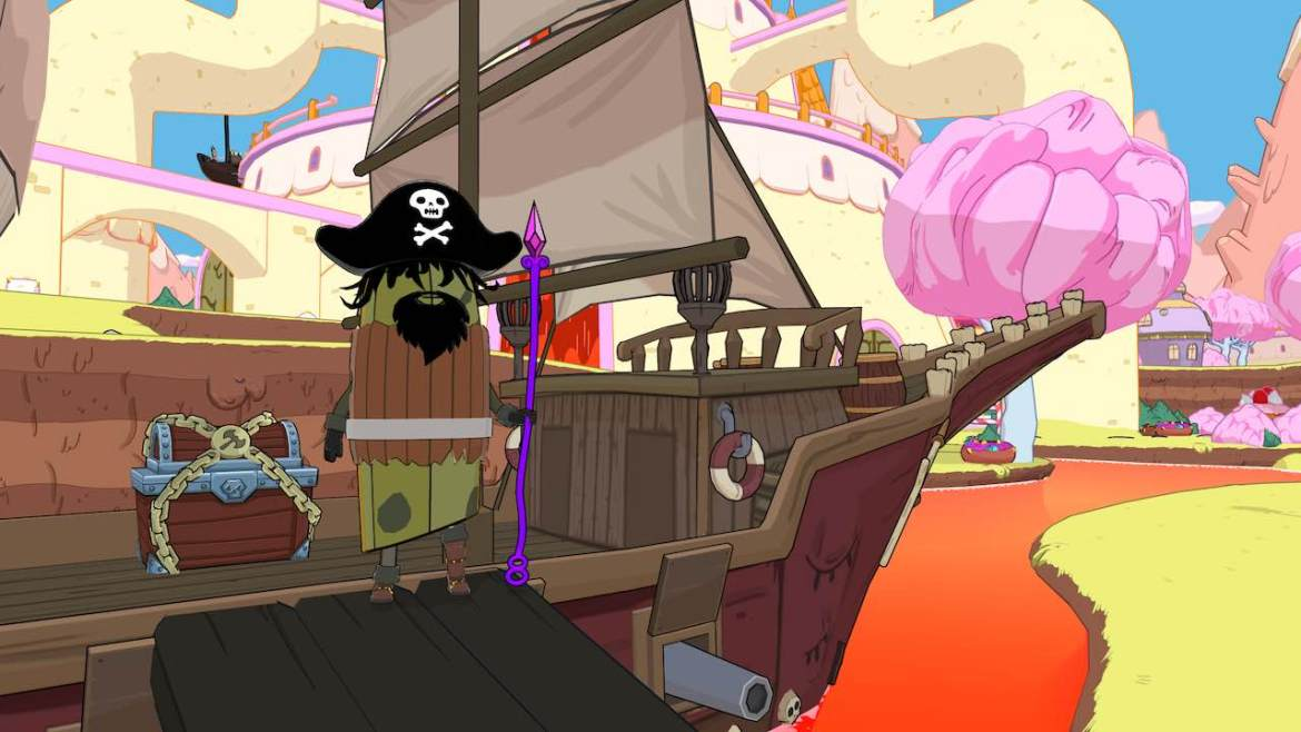 Adventure Time: Pirates Of The Enchiridion Review Screenshot 1