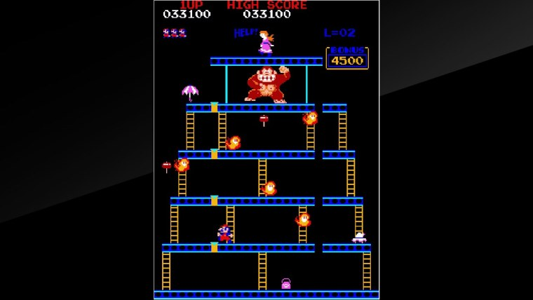 Arcade Archives Donkey Kong Review Screenshot 2