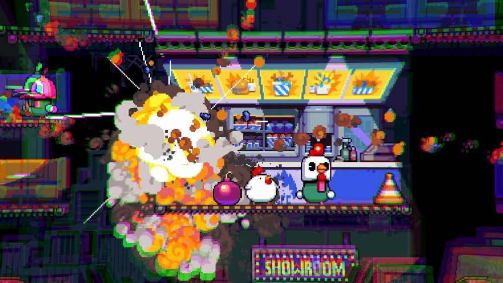 Bomb Chicken Review Screenshot 1
