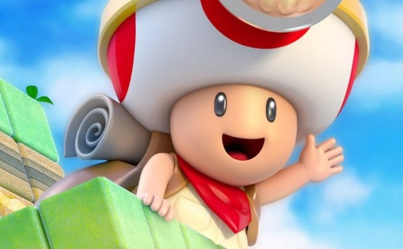 Captain Toad: Treasure Tracker 3DS Review Header