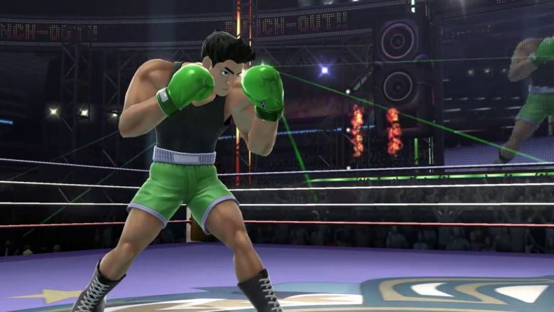 Little Mac Super Smash Bros. For Wii U Screenshot