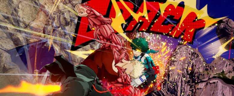 Muscular My Hero One's Justice Screenshot