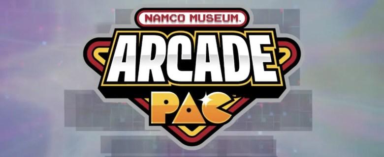 Namco Museum Arcade Pac Logo