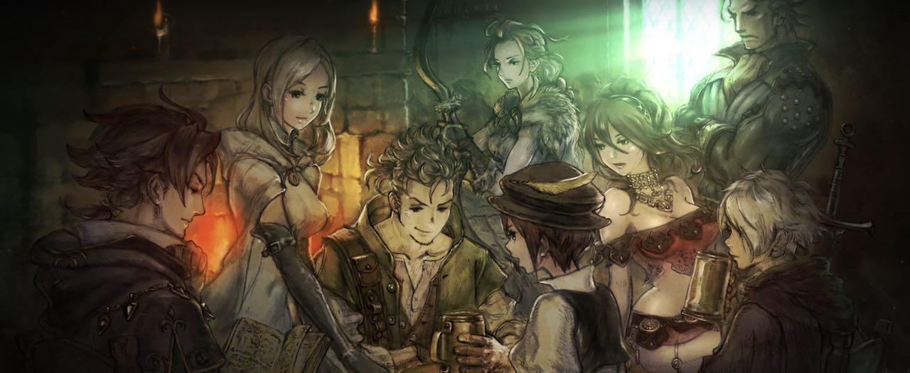 Octopath Traveler Character Artwork