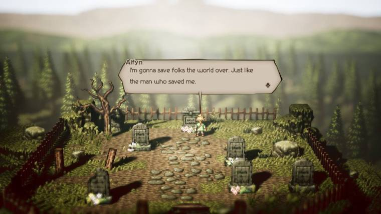 Octopath Traveler Review Screenshot 2