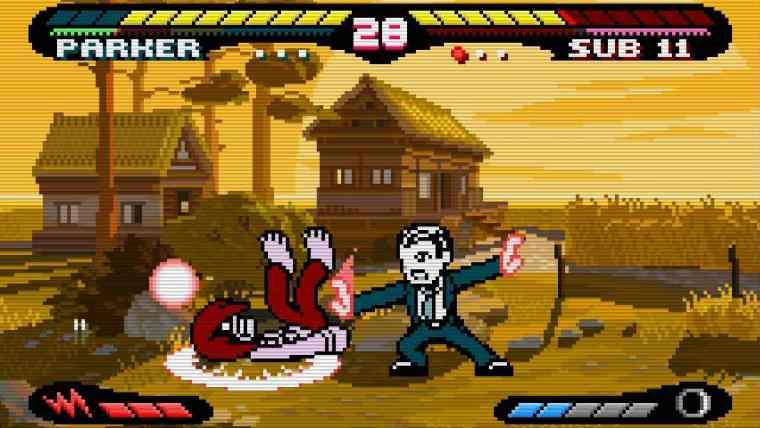 Pocket Rumble Review Screenshot 2