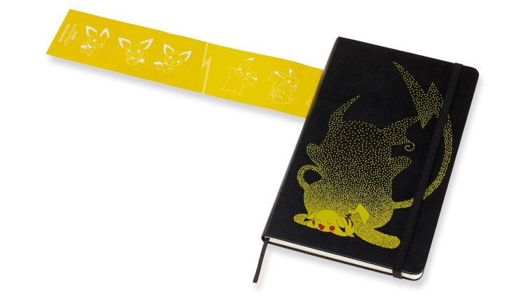 Pokémon Limited Edition Ruled Notebook: Pikachu Photo