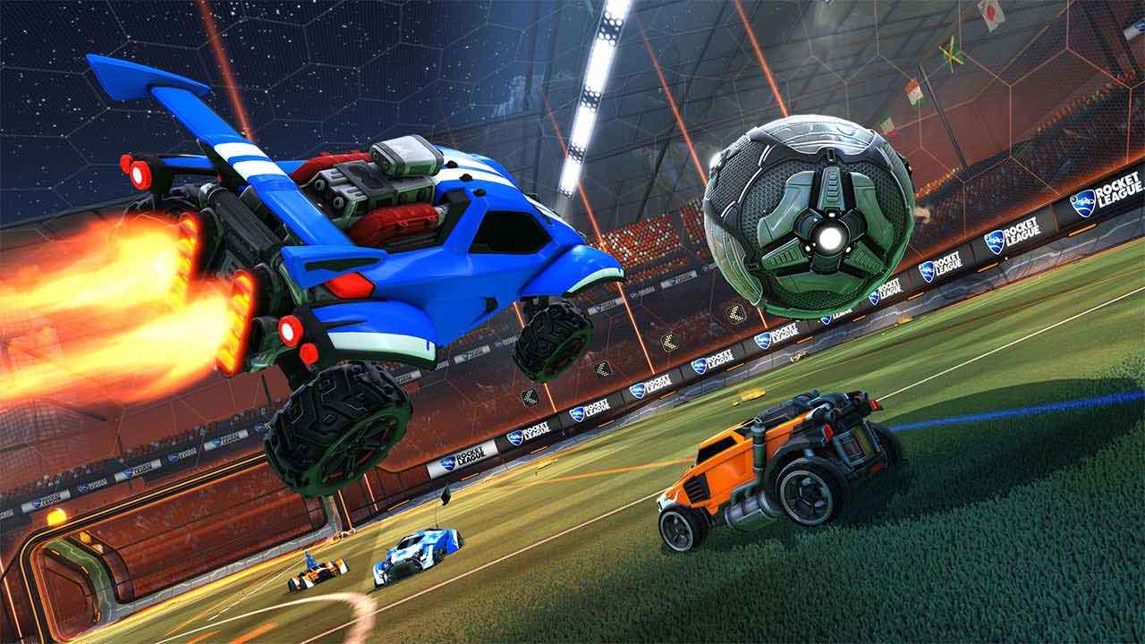 Rocket League Update Screenshot