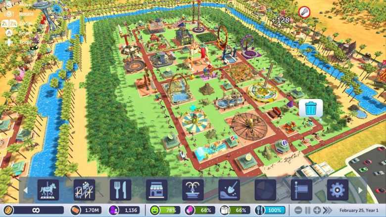 RollerCoaster Tycoon Adventures Screenshot