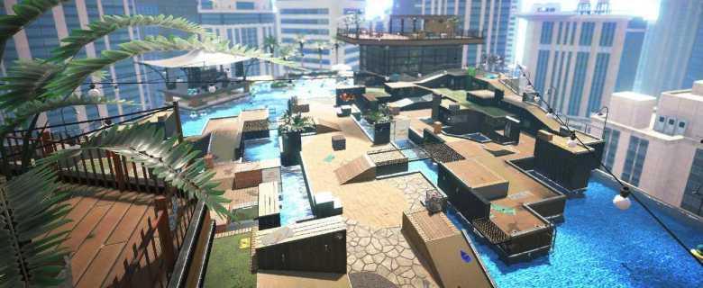 Splatoon 2 New Albacore Hotel Screenshot
