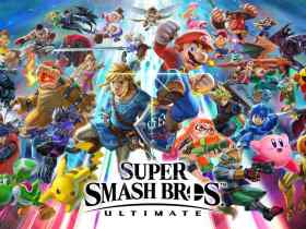 Super Smash Bros. Ultimate Main Artwork