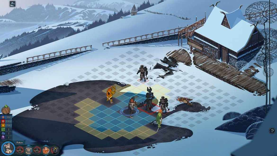 The Banner Saga Review Screenshot 2
