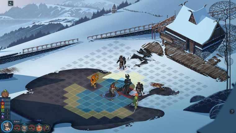 The Banner Saga Review Screenshot 2