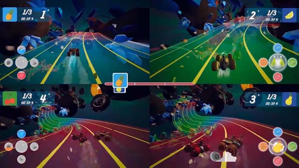 All-Star Fruit Racing Review Screenshot 2