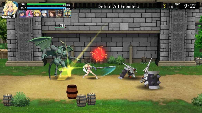 Code Of Princess EX Review Screenshot 1