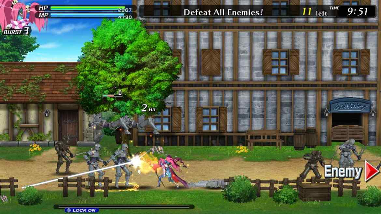 Code Of Princess EX Review Screenshot 2