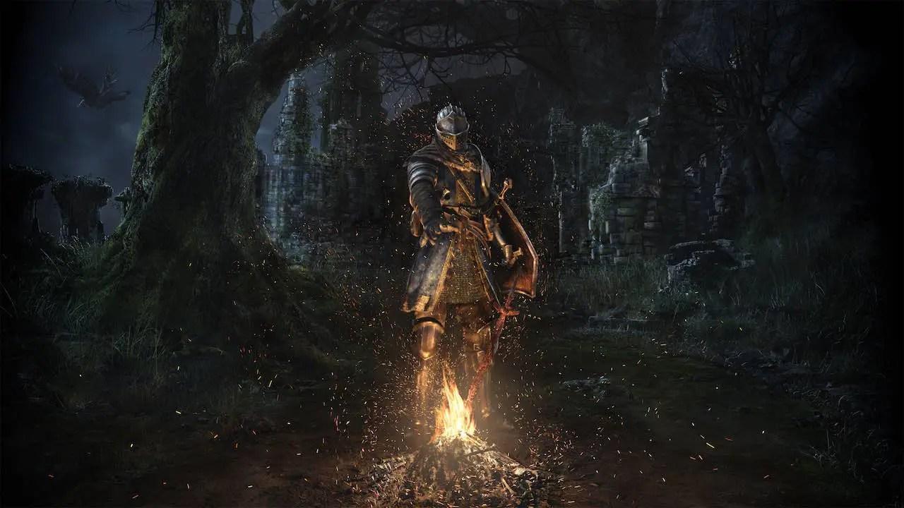 Dark Souls Remastered Key Art