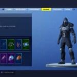 Fortnite Enforcer Skin Screenshot