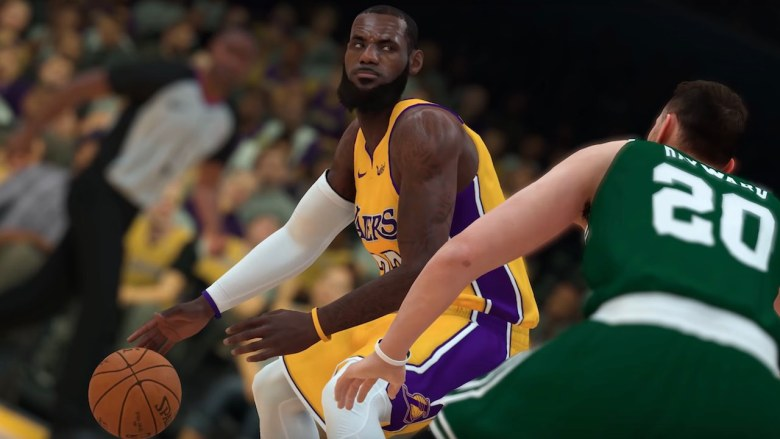 LeBron James NBA 2K19 Screenshot