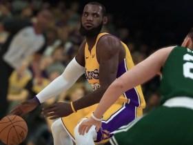 LeBron James NBA 2K19 Screenshot