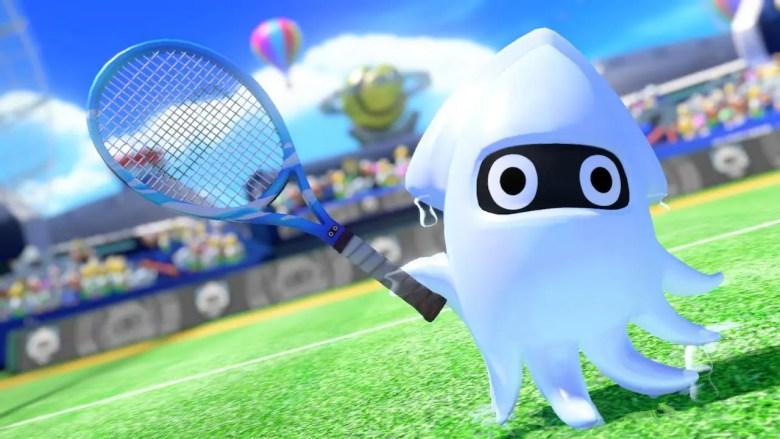 Mario Tennis Aces Blooper Screenshot