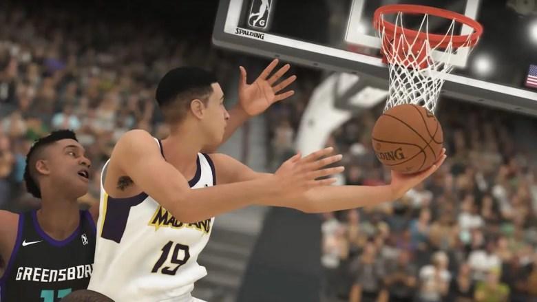 NBA 2K19 MyCareer Screenshot